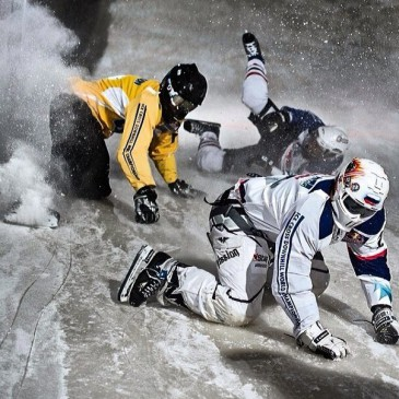 Red Bull Crashed Ice 2015. Хельсинки.