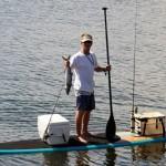 Рыбалка на SUP-серфе